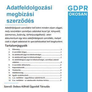 adatfeldolgozói-szerződés