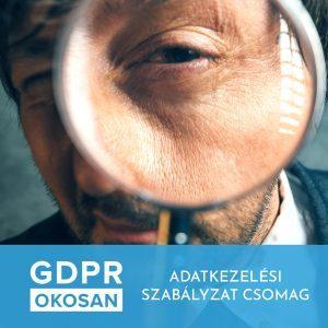 GDPR - Adatkezelési szabályzat