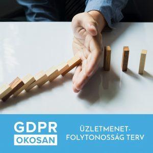 GDPR - Üzletmenet folytonosság terv