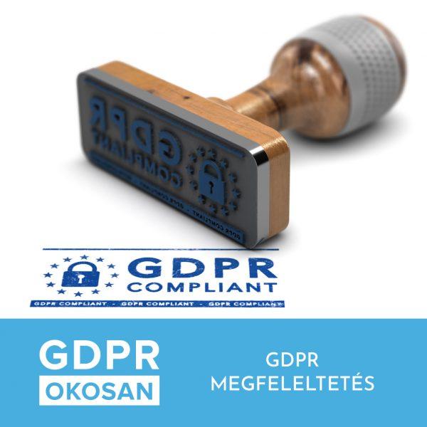 GDPR - GDPR megfeleltetés