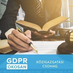 GDPR - Közigazgatási csomag