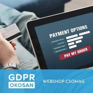 GDPR - Webshop csomag